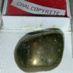 Chalcopyrite polished gem stone gemstone specimen  40mm   LC-56